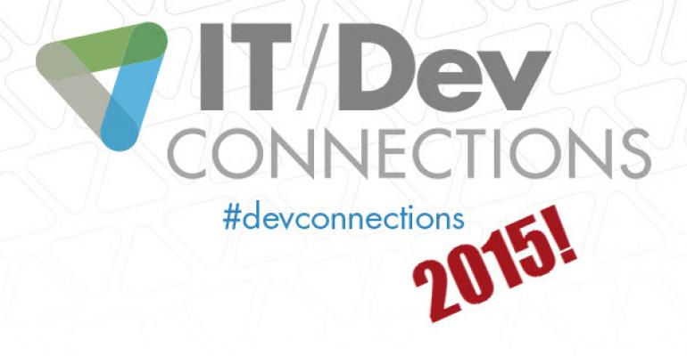 IT/Dev Connections 2015 Registration Opens!