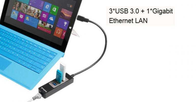 Product Review: Inateck 3 Port USB Hub with Gigabit Ethernet