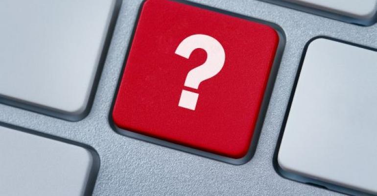 question mark key