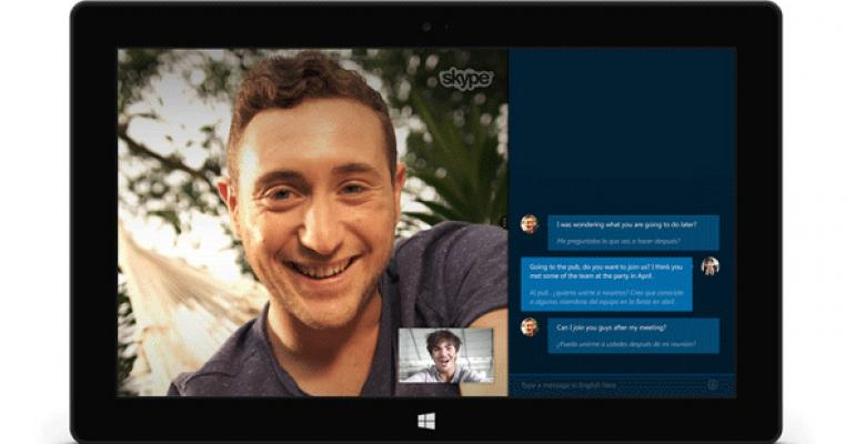 Microsoft Launches Skype Translator Preview