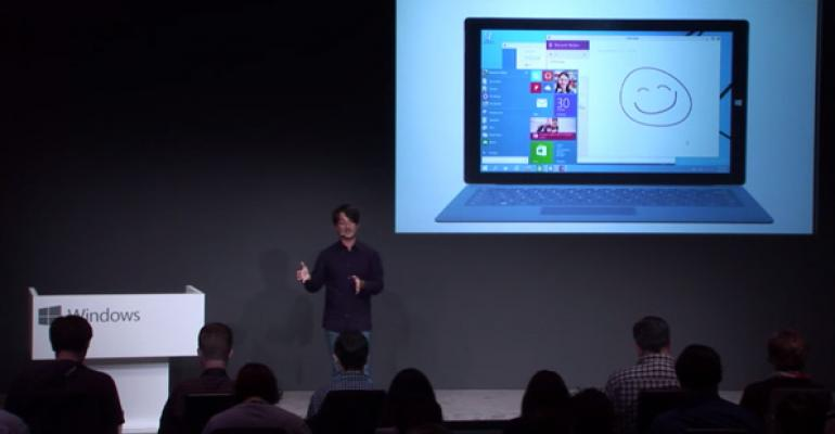 Microsoft to Hold Windows 10 Consumer Event on January 21