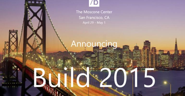 You Can Register for BUILD 2015 on January 22
