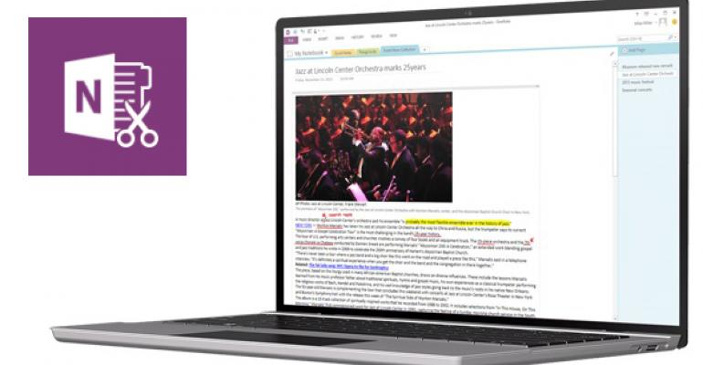 OneNote Modern App Now Supports Password Protected Sections