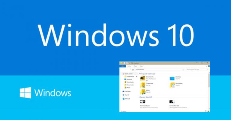 Windows 10 Build 9926: The Quick Access Feature and Changing File Explorer's Startup Folder
