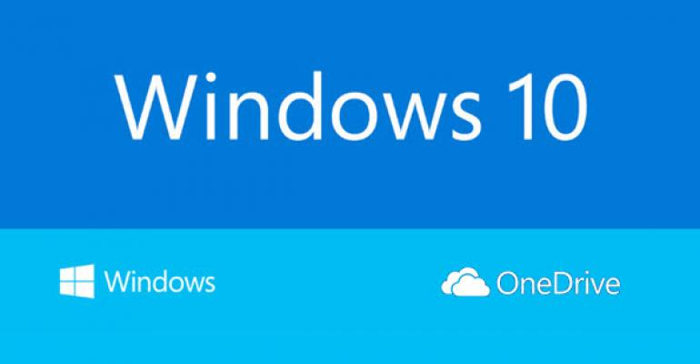 OneDrive to Get a Big Revamp as Part of Windows 10