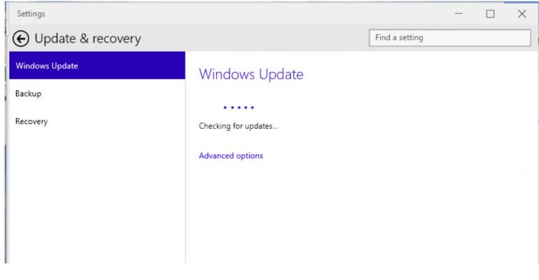 Windows 10 Build 9926: Where's Windows Update?