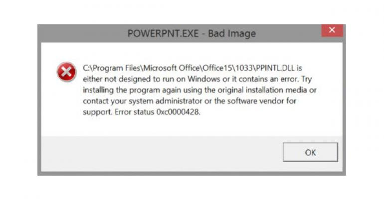 Patch Tuesday: KB2920732 Breaks PowerPoint 2013
