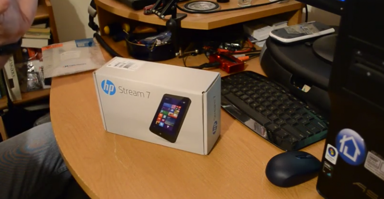 HP Stream 7: Unboxing and Initial Thoughts