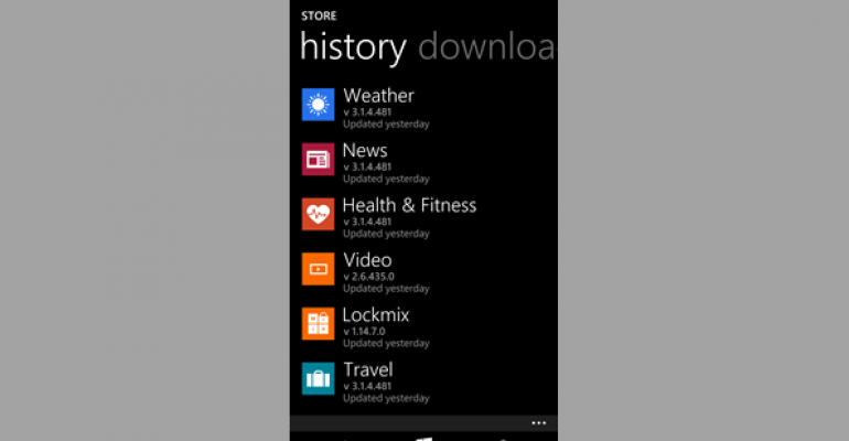 MSN Apps for Windows Phone Get Fixes and Improvements