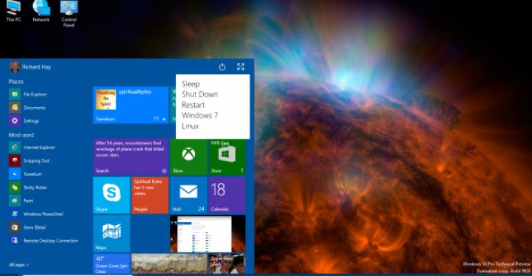 Windows 10 Power Menu Idea and Mockup