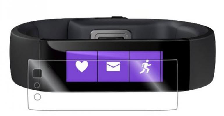 Protecting the Microsoft Band Screen
