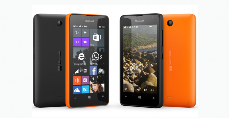 Microsoft announces the budget minded Lumia 430 handset