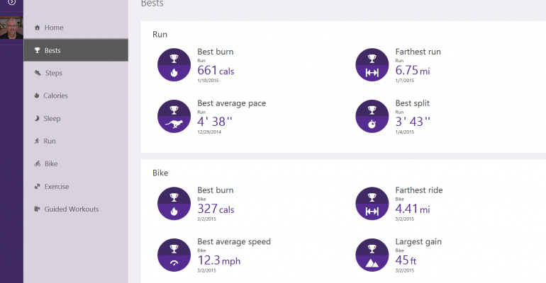 Cycling activities now available on Microsoft Health Portal