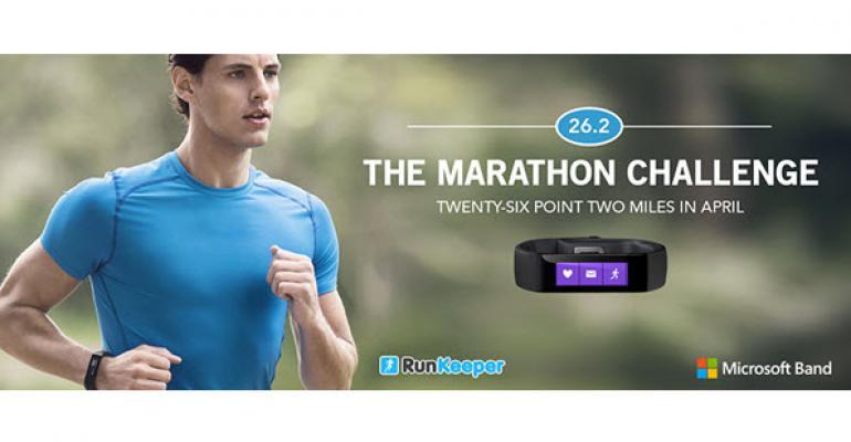 Microsoft Band and RunKeeper Partner for April Marathon Challenge