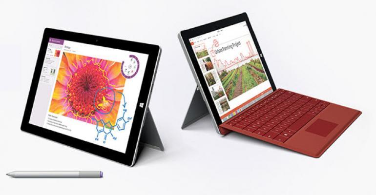 Microsoft Announces the non-Pro Surface 3