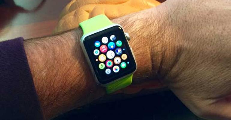 Apple Watch on my own hairy sorry wrist