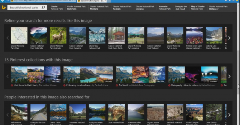 Upcoming Bing Image Search features detailed by Microsoft