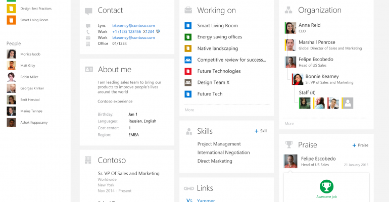 Office Delve updates include iPhone, Android apps and new people centric features