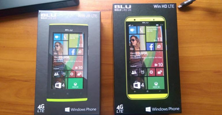 First Look: BLU Win HD LTE and BLU JR LTE