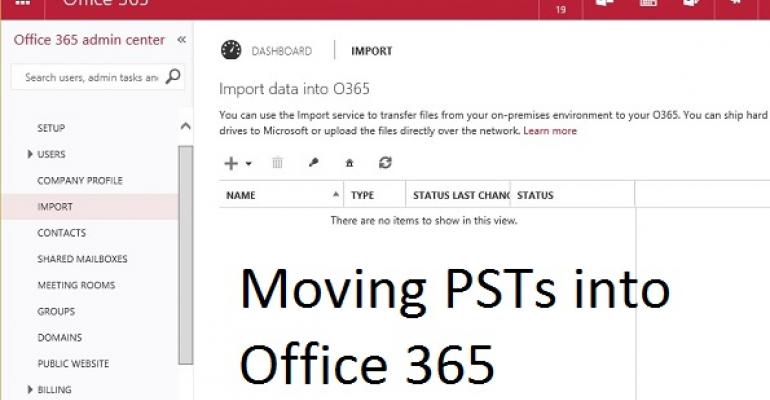 Clearing the decks for Ignite - more on Office 365 numbers, anti-malware, and PST imports