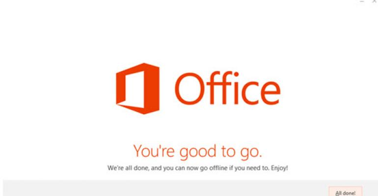Click-to-Run Tool for Customized Office 2013 Installations