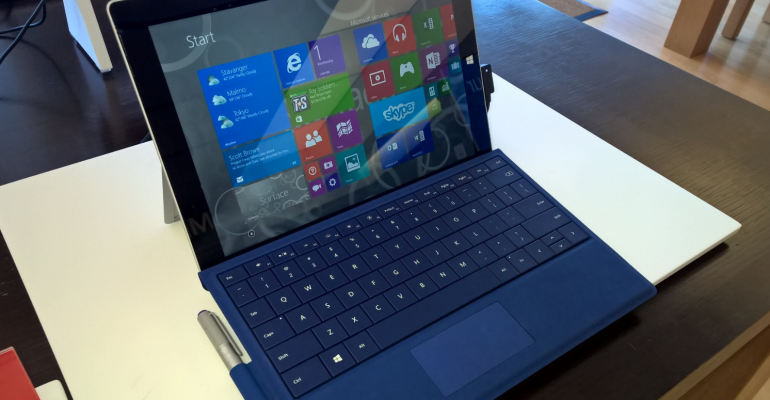 Surface 3 pre-orders ship on 5 May and will not arrive on release day