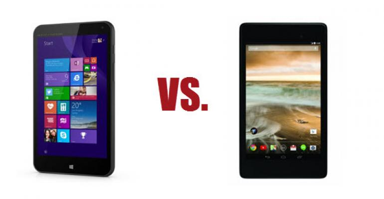 Can a Windows Tablet Replace an Android Tablet?
