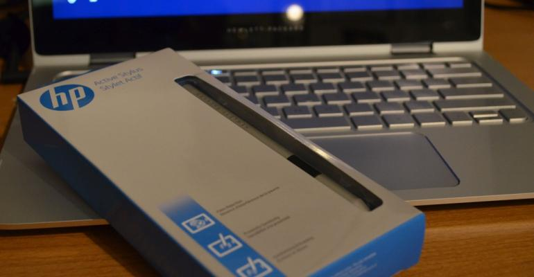 Using the HP Active Pen with the HP Spectre x360
