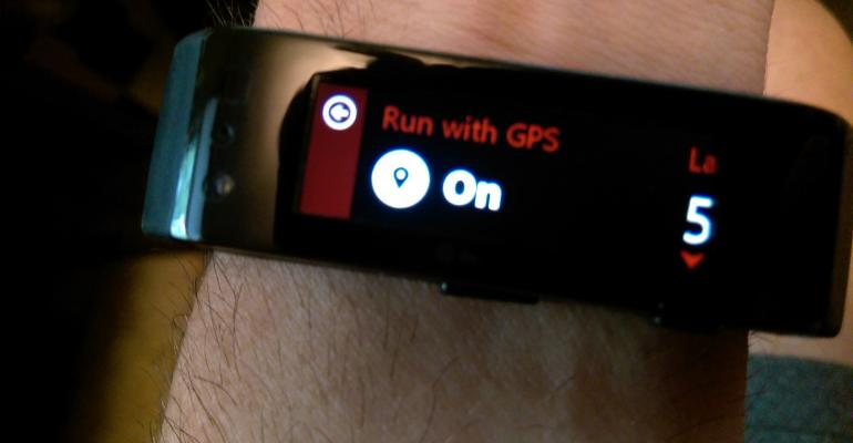 Quick Tip: Turning Off GPS for Microsoft Band Activities