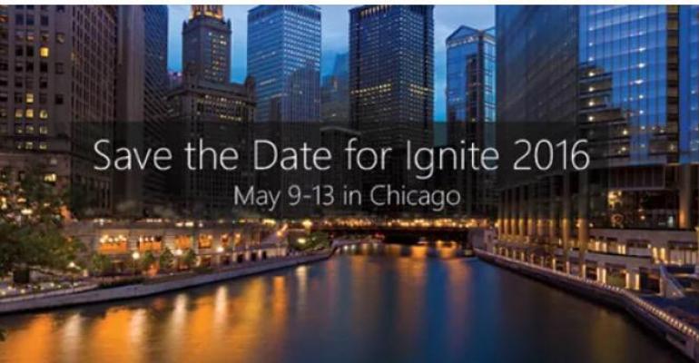 Microsoft Ignite Back in Chicago for 2016