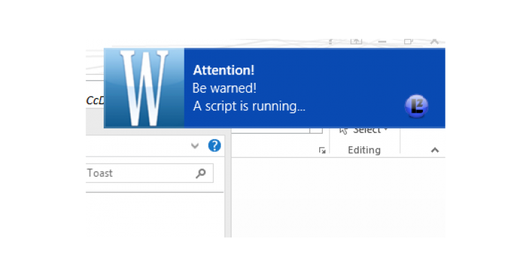 Include Your Own Windows 8.1 Toast Notifications in Your Scripts