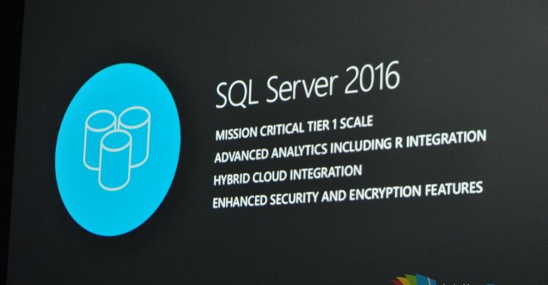 CTP 2 of SQL Server 2016 Now Available
