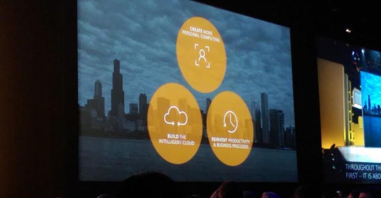 Microsoft has three simple goals