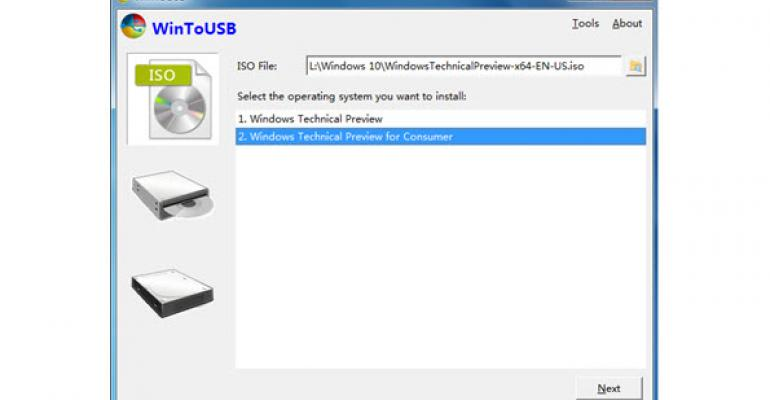 Run Windows from Any USB Flash Drive