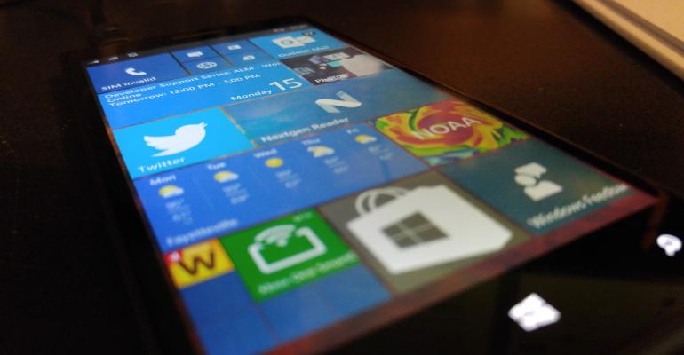 Microsoft plans to push mobile build 10136 to Windows 10 Insiders tomorrow