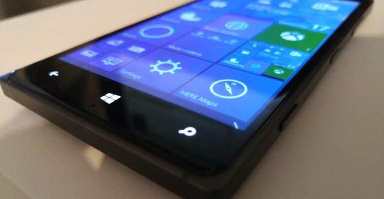 Windows 10 Mobile Build 10136 Hands On