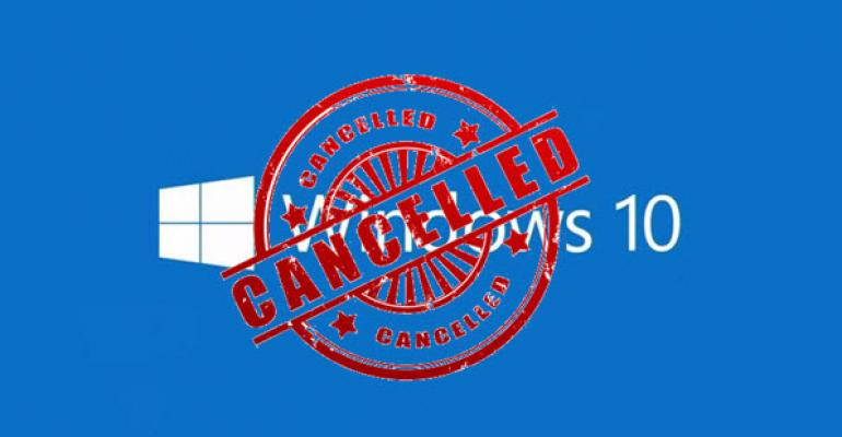 Successfully Cancelling Your Windows 10 Upgrade Reservation