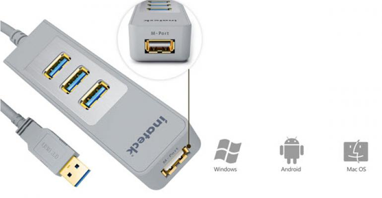 Product Review: Inateck 3-Port USB 3.0 Hub with Magic Port
