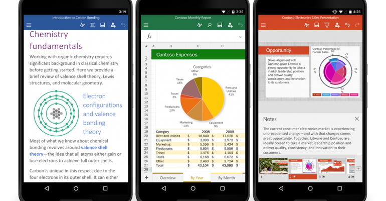 Office for Android Phones Released