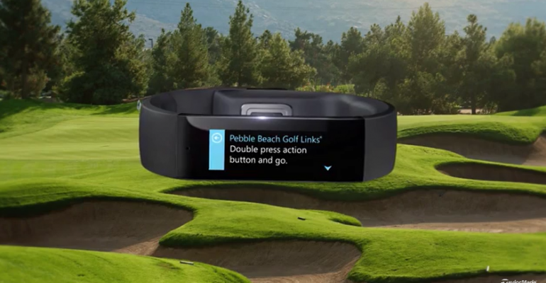 This is How Golf Will Work with the Microsoft Band