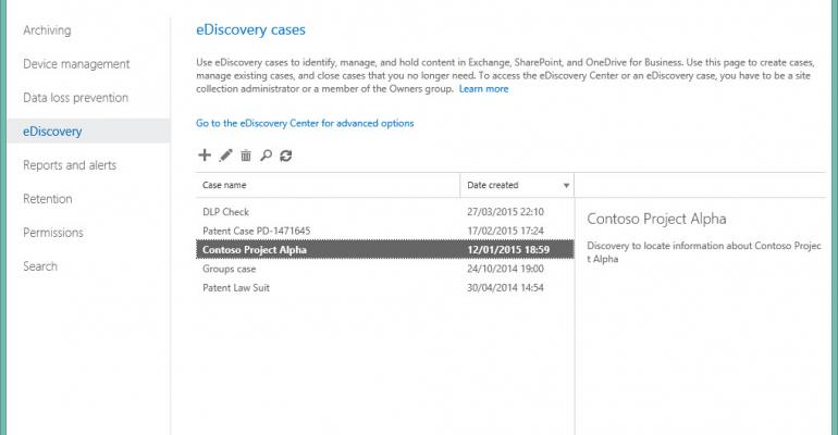 Building efficient keyword queries for eDiscovery searches in Exchange and SharePoint