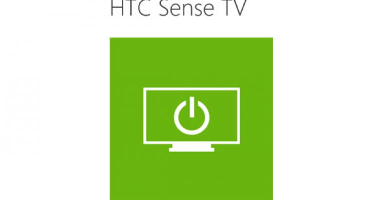 HTC Releases Updated HTC Sense TV App for Windows Phone that Works