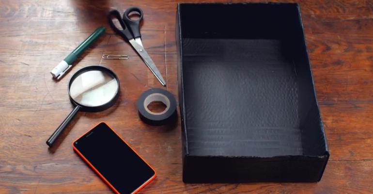 DIY: Turn Your Smartphone into a Cinema Projector