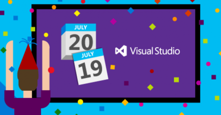 Visual Studio 2015 will RTM on 20 July 2015