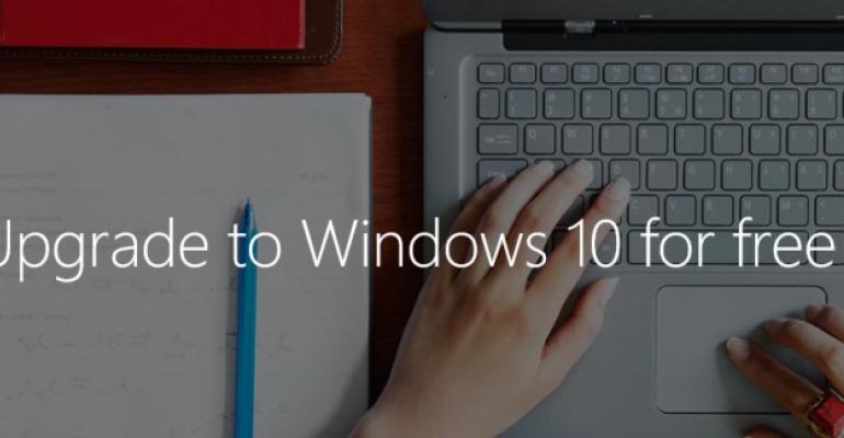 Windows 10 Availability Tidbits