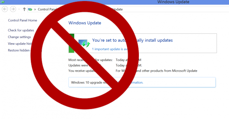 Samsung decides some systems do not need Windows Update turned on