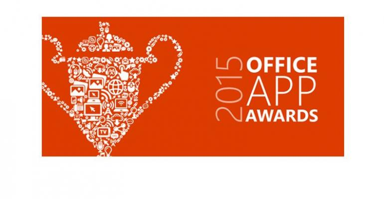 2015 Office App Award Winners Make SharePoint Users More Productive