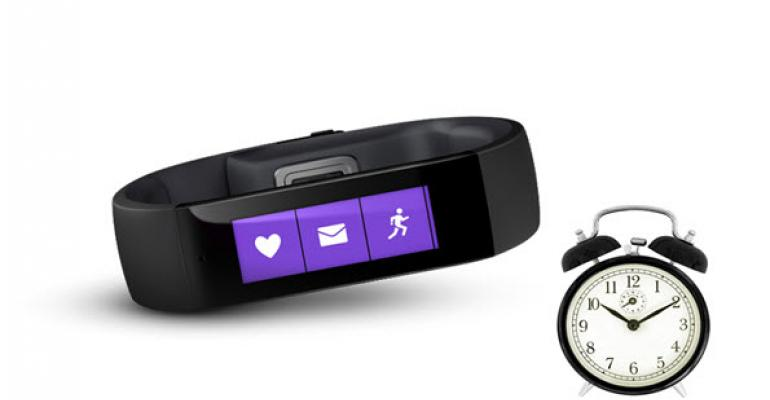 Microsoft Band Tip: Forcing a Check for New Firmware