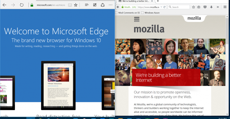 The control and choice of your default web browser in Windows 10 is quite easy