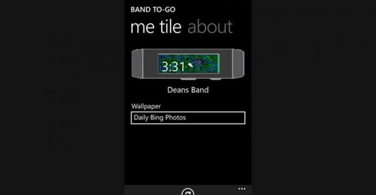 Band To-Go Keeps your Microsoft Band Me Tile Fresh